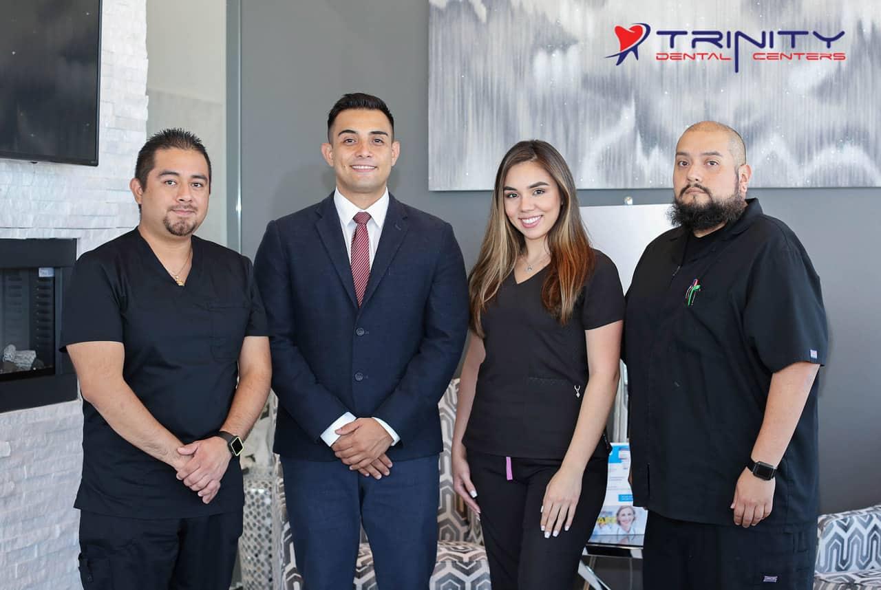 Trinity dental humble team